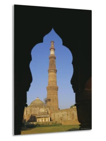 Qutb Minar, Delhi, India, Asia-Adina Tovy-Metal Print