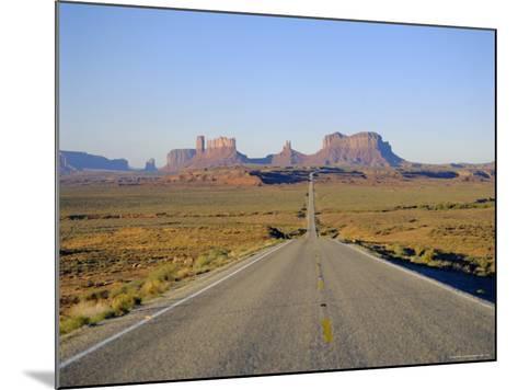Road to Monument Valley, Navajo Reserve, Utah, USA-Adina Tovy-Mounted Photographic Print