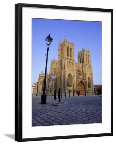 Bristol Cathedral, Bristol, Avon, England, UK, Europe-Julia Bayne-Framed Art Print