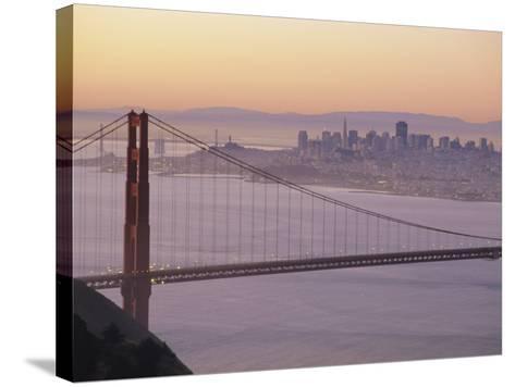 Golden Gate Bridge, San Francisco, California, USA-Ruth Tomlinson-Stretched Canvas Print