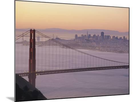 Golden Gate Bridge, San Francisco, California, USA-Ruth Tomlinson-Mounted Photographic Print