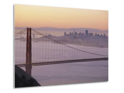 Golden Gate Bridge, San Francisco, California, USA-Ruth Tomlinson-Metal Print