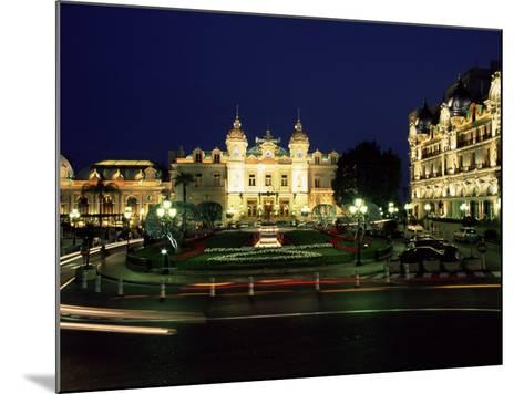The Casino and Hotel De Paris by Night, Monte Carlo, Monaco-Ruth Tomlinson-Mounted Photographic Print