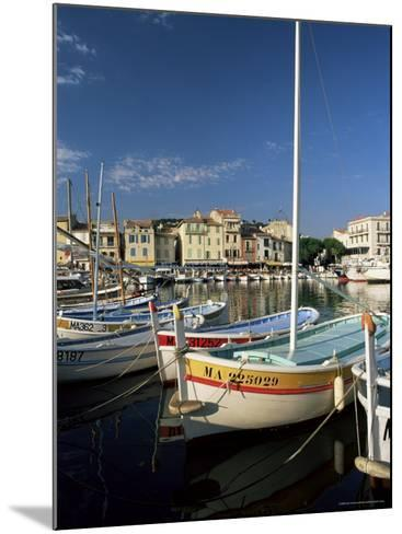 View Across the Harbour in the Evening, Cassis, Bouches-Du-Rhone, Provence, France, Mediterranean-Ruth Tomlinson-Mounted Photographic Print