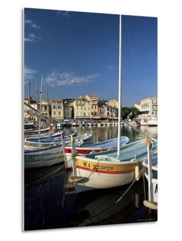 View Across the Harbour in the Evening, Cassis, Bouches-Du-Rhone, Provence, France, Mediterranean-Ruth Tomlinson-Metal Print
