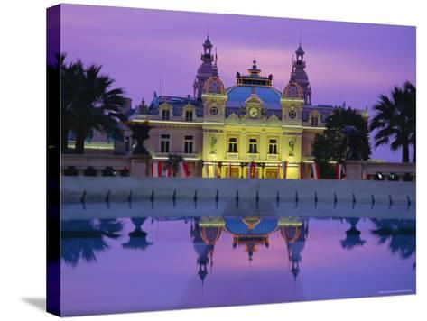 West Front of the Casino, Monte Carlo, Monaco, Europe-Ruth Tomlinson-Stretched Canvas Print
