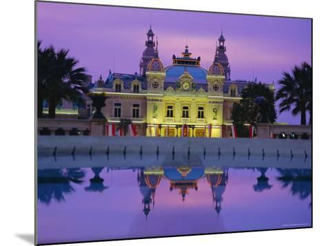 West Front of the Casino, Monte Carlo, Monaco, Europe-Ruth Tomlinson-Mounted Photographic Print