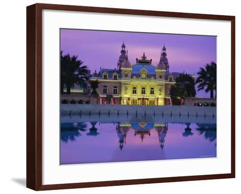 West Front of the Casino, Monte Carlo, Monaco, Europe-Ruth Tomlinson-Framed Art Print