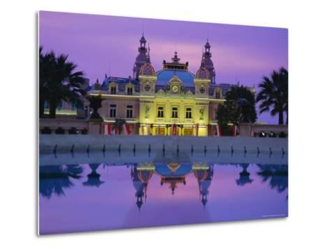 West Front of the Casino, Monte Carlo, Monaco, Europe-Ruth Tomlinson-Metal Print