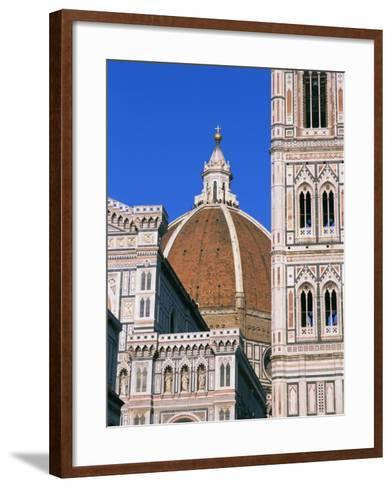 Duomo (Cathedral), Florence, Unesco World Heritage Site, Tuscany, Italy, Europe-Hans Peter Merten-Framed Art Print
