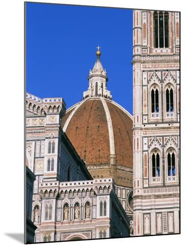 Duomo (Cathedral), Florence, Unesco World Heritage Site, Tuscany, Italy, Europe-Hans Peter Merten-Mounted Photographic Print