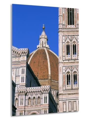 Duomo (Cathedral), Florence, Unesco World Heritage Site, Tuscany, Italy, Europe-Hans Peter Merten-Metal Print