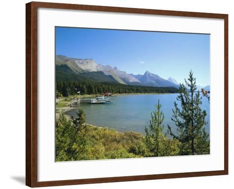 Maligne Lake, Jasper National Park, Rocky Mountains, Alberta, Canada-Hans Peter Merten-Framed Art Print