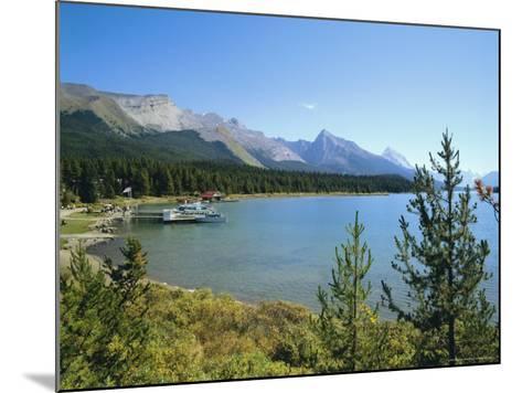 Maligne Lake, Jasper National Park, Rocky Mountains, Alberta, Canada-Hans Peter Merten-Mounted Photographic Print