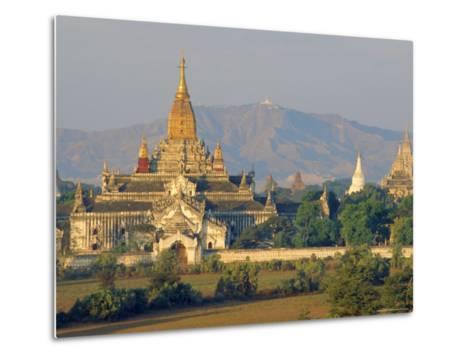 Anada Temple, Bagan, Myanmar, Asia-Upperhall Ltd-Metal Print