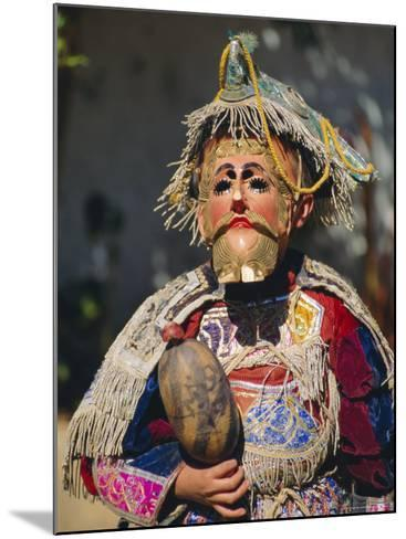 Chichicastenango, Dance of the Conquistadors, Guatemala, Central America-Upperhall Ltd-Mounted Photographic Print