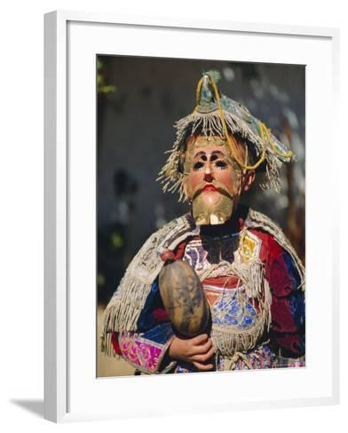 Chichicastenango, Dance of the Conquistadors, Guatemala, Central America-Upperhall Ltd-Framed Art Print