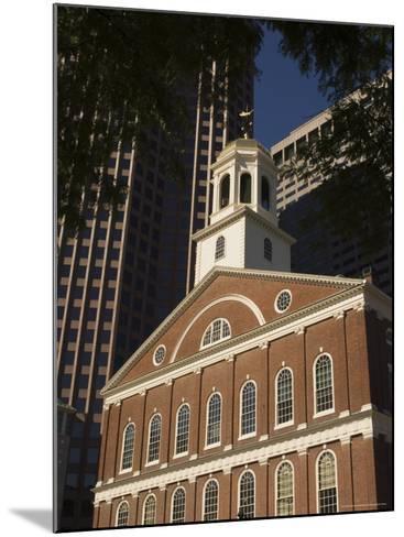 Faneuil Hall, Boston, Massachusetts, USA-Amanda Hall-Mounted Photographic Print