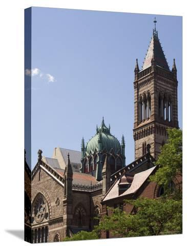 The New Old South Church, Copley Square, Back Bay, Boston, Massachusetts, USA-Amanda Hall-Stretched Canvas Print