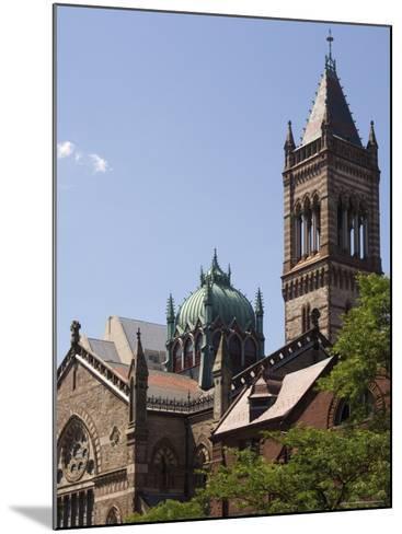 The New Old South Church, Copley Square, Back Bay, Boston, Massachusetts, USA-Amanda Hall-Mounted Photographic Print