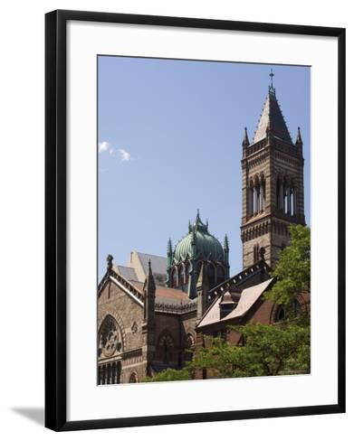 The New Old South Church, Copley Square, Back Bay, Boston, Massachusetts, USA-Amanda Hall-Framed Art Print