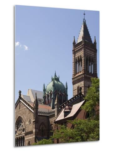 The New Old South Church, Copley Square, Back Bay, Boston, Massachusetts, USA-Amanda Hall-Metal Print