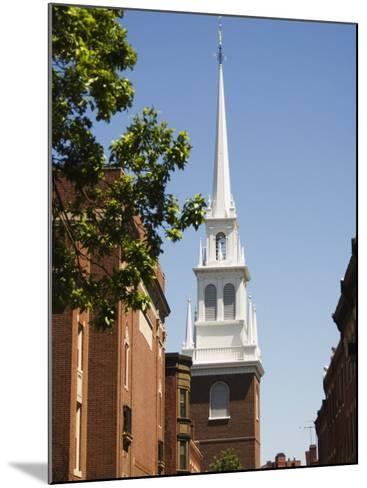 Old North Church, North End, Boston, Massachusetts, USA-Amanda Hall-Mounted Photographic Print