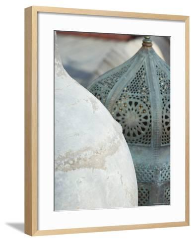 Arabian Pots, Dubai, United Arab Emirates, Middle East-Amanda Hall-Framed Art Print