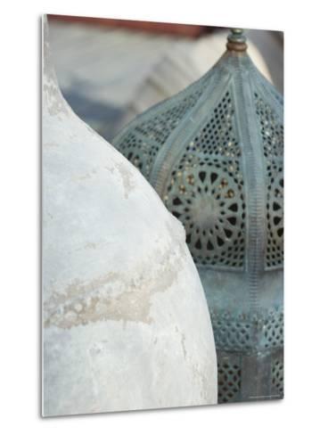 Arabian Pots, Dubai, United Arab Emirates, Middle East-Amanda Hall-Metal Print