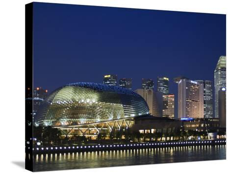 Esplanade Theatres on the Bay, Singapore, Southeast Asia, Asia-Amanda Hall-Stretched Canvas Print