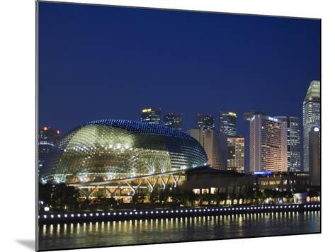 Esplanade Theatres on the Bay, Singapore, Southeast Asia, Asia-Amanda Hall-Mounted Photographic Print