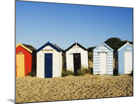 Beach Huts, Southwold, Suffolk, England, United Kingdom, Europe-Amanda Hall-Mounted Photographic Print