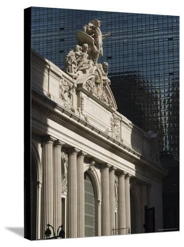 Grand Central Station Terminal Building, 42nd Street, Manhattan, New York City, New York, USA-Amanda Hall-Stretched Canvas Print