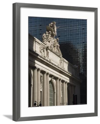 Grand Central Station Terminal Building, 42nd Street, Manhattan, New York City, New York, USA-Amanda Hall-Framed Art Print