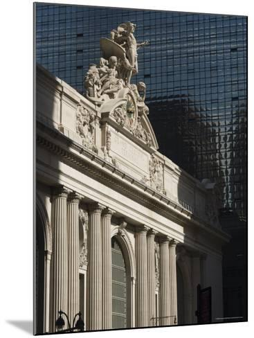 Grand Central Station Terminal Building, 42nd Street, Manhattan, New York City, New York, USA-Amanda Hall-Mounted Photographic Print