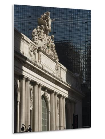 Grand Central Station Terminal Building, 42nd Street, Manhattan, New York City, New York, USA-Amanda Hall-Metal Print