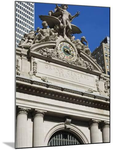 Grand Central Station Terminal Building, 42nd Street, Manhattan, New York City, New York, USA-Amanda Hall-Mounted Photographic Print