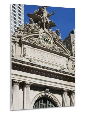Grand Central Station Terminal Building, 42nd Street, Manhattan, New York City, New York, USA-Amanda Hall-Metal Print