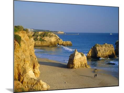 Praia De Rocha, Western Algarve, Portugal, Europe-Amanda Hall-Mounted Photographic Print