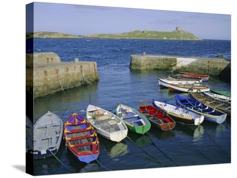 Dalkey Island and Coliemore Harbour, Dublin, Ireland, Europe-Firecrest Pictures-Stretched Canvas Print