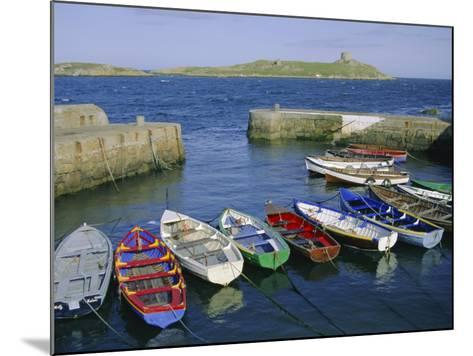 Dalkey Island and Coliemore Harbour, Dublin, Ireland, Europe-Firecrest Pictures-Mounted Photographic Print