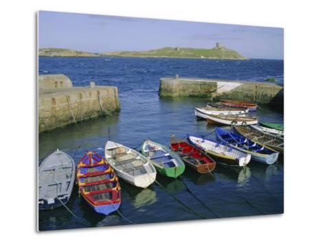 Dalkey Island and Coliemore Harbour, Dublin, Ireland, Europe-Firecrest Pictures-Metal Print