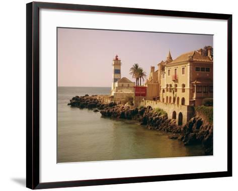 The Lighthouse, Cascais, Estremadura, Portugal, Europe-Firecrest Pictures-Framed Art Print