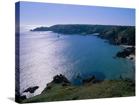 Petit Bot Bay, Guernsey, Channel Islands, UK, Europe-Firecrest Pictures-Stretched Canvas Print