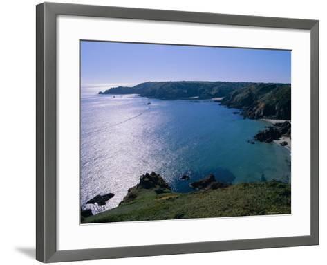 Petit Bot Bay, Guernsey, Channel Islands, UK, Europe-Firecrest Pictures-Framed Art Print