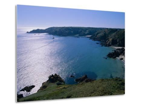 Petit Bot Bay, Guernsey, Channel Islands, UK, Europe-Firecrest Pictures-Metal Print