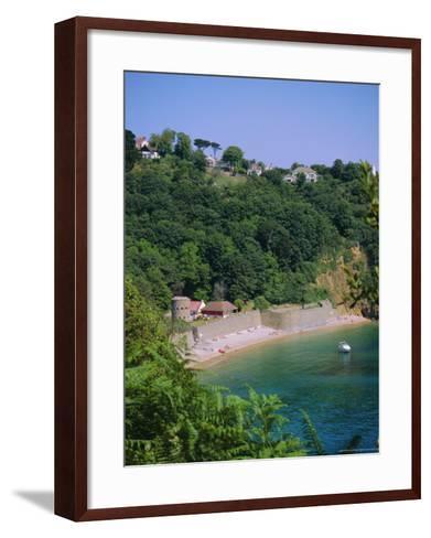 Fermain Bay, Guernsey, Channel Islands, UK-Firecrest Pictures-Framed Art Print
