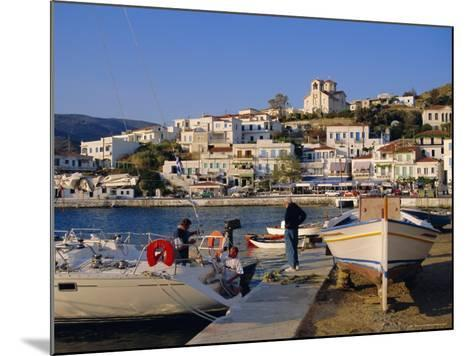 Batsi, Andros, Cyclades Islands, Greece, Europe-Firecrest Pictures-Mounted Photographic Print
