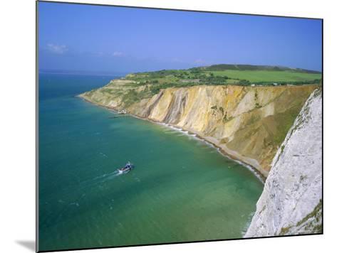 Alum Bay, Isle of Wight, England-Roy Rainford-Mounted Photographic Print