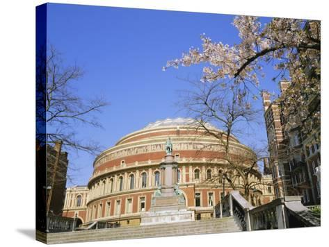 The Royal Albert Hall, Kensington, London, England, UK-Roy Rainford-Stretched Canvas Print